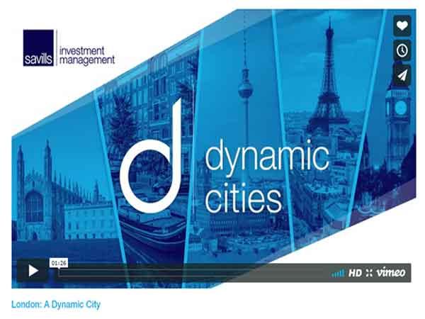 Meest dynamische stad van Europa is Londen, top 40 met Amsterdam als 4e