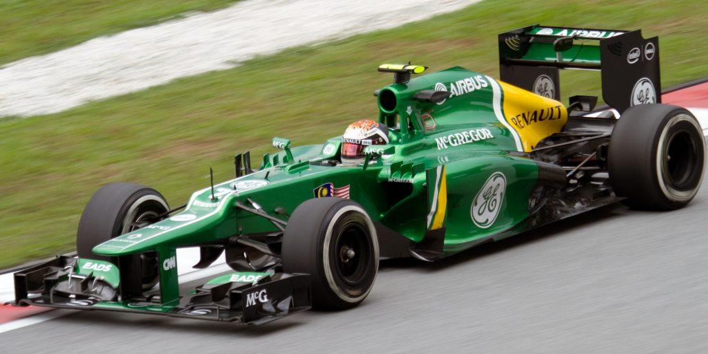 Giedo van der Garde in 2013 tijdens de Grand Prix van Maleisië