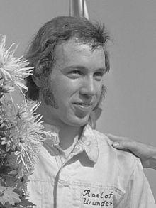 Roelof Wunderink in 1972