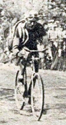 Albert Dejonghe tijdens de vierde etappe van de Tour de France 1923 (30 juni 1923)