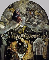 Begrafenis van de Graaf van Orgaz - El Gereco - 1586