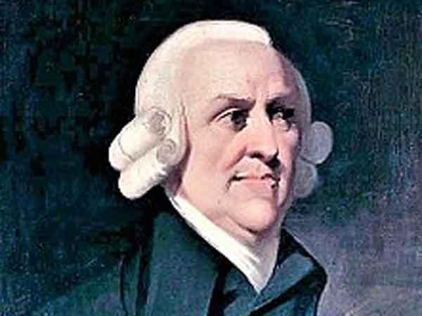 Grootste economen aller tijden - Adam Smith