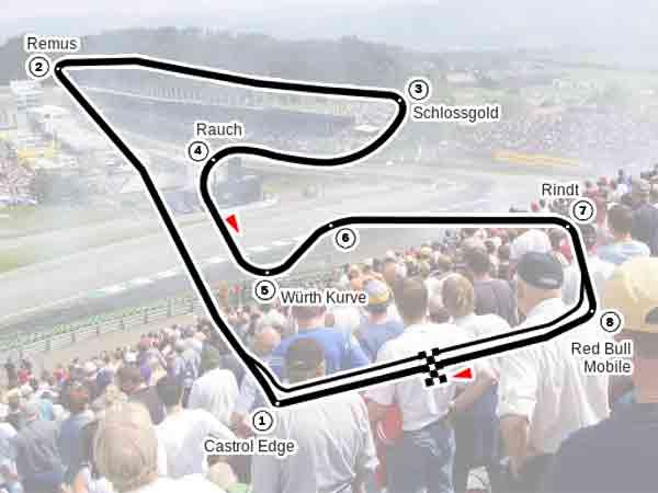 Alle winnaars Formule 1 Grand Prix van Oostenrijk sinds 1964 (update)