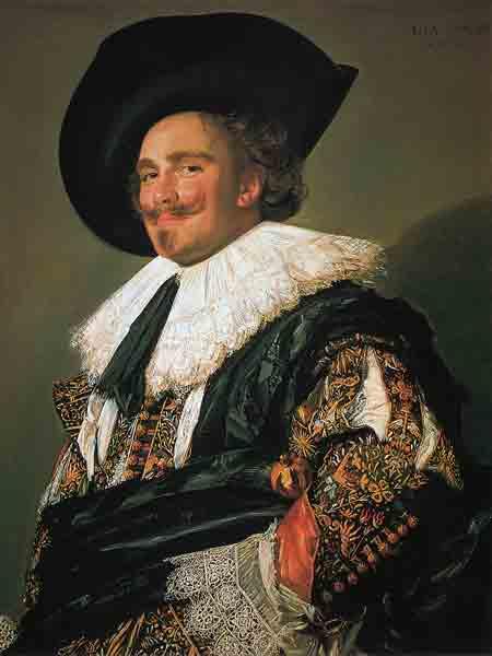 Frans Hals, De lachende cavalier. 1624. Londen, Wallace Collection