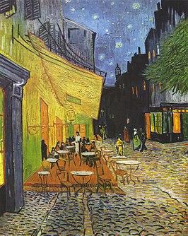 Caféterras bij nacht - Vincent van Gogh