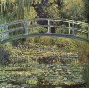 Claude Monet - De Japanse brug en de waterlelies, 1899, National Gallery