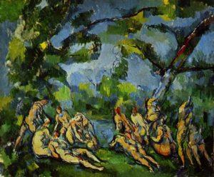 bekendste Franse Schilders Paul Cézanne - De baadsters