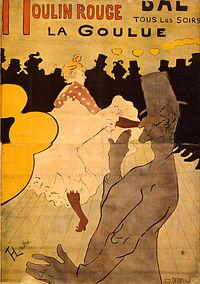 Henri de Toulouse-Lautrec - Moulin Rouge: La Goulue