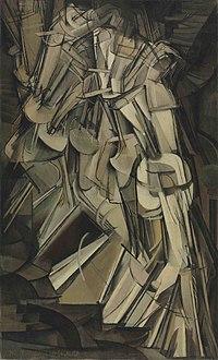 Marcel Duchamp - Nu descendant un escalier