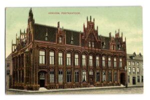 Hoofdpostkantoor, Arnhem (1888)