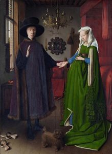Portret van Giovanni Arnolfini en zijn vrouw (1434) - Jan van Eyck