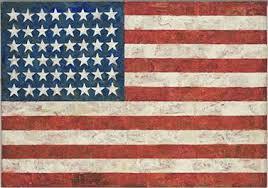 Jasper Johns - Flag (1954–55)
