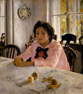 Valentin Serov - Meisje met de perziken (1887)