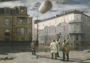 Carel Willink - Zeppelin Medium