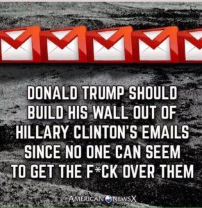 Donald Trump - Hillary Clinton emails