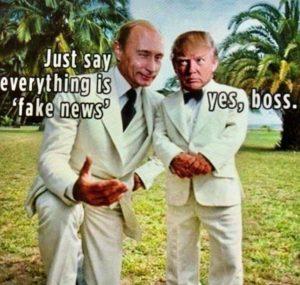 Donald Trump - Vladimir Putin I