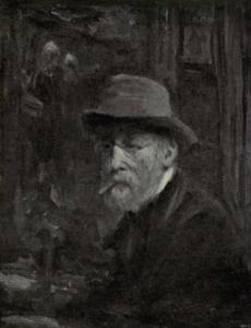 Jozef Israels - Zelfportret, 1908