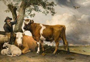 Paulus Potter - De stier, 1647
