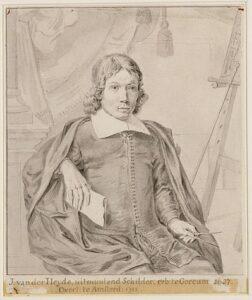 Portret van Jan van der Heyden (1661)