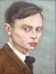 Zelfportret (1918)