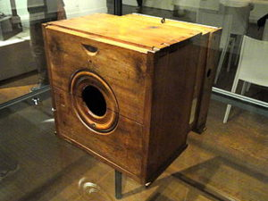 Camera van Niépce 1820-1839
