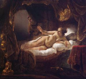 Rembrandt - Danaë