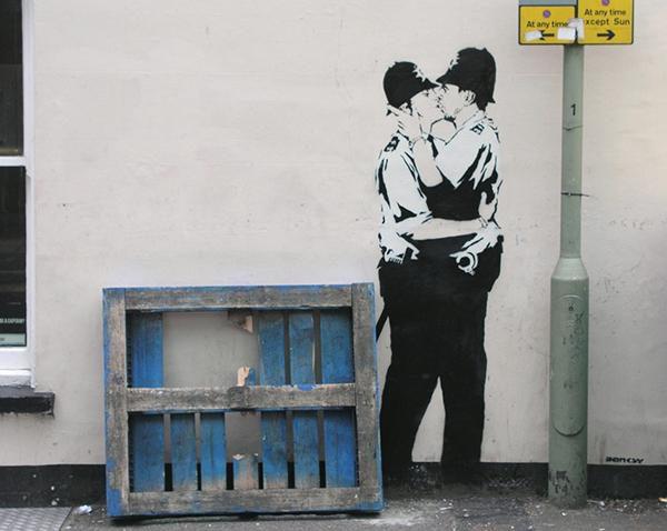 Beroemdste kunstwerken van Banksy – De top 10