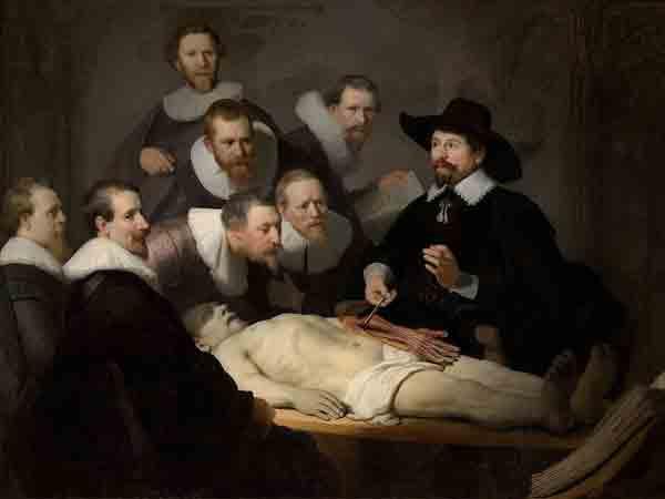 Meest bekende schilderijen van Rembrandt