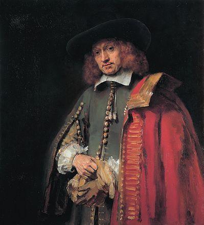 Rembrandt - Portret van Jan Six
