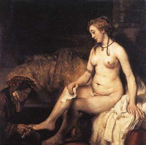 Rembrandt - Bathseba met de brief van koning David