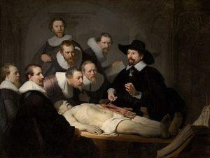 Rembrandt - De anatomische les van Dr Nicolaes Tulp