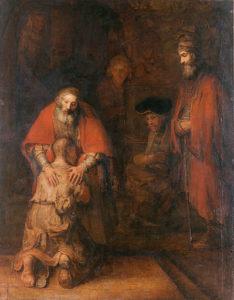 Rembrandt - Terugkeer van de Verloren Zoon