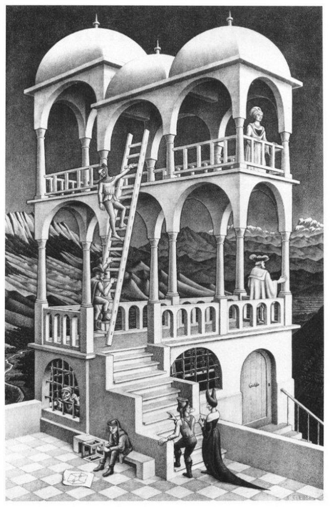 Belverdere - M.C. Escher