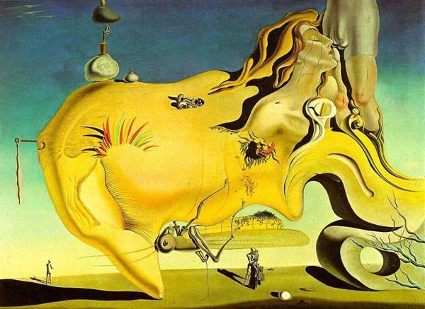 De grote mastrubeerder - Salvador Dali