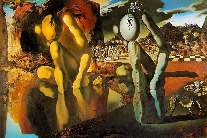 Metamorphose van Narcissus - Salvador Dali