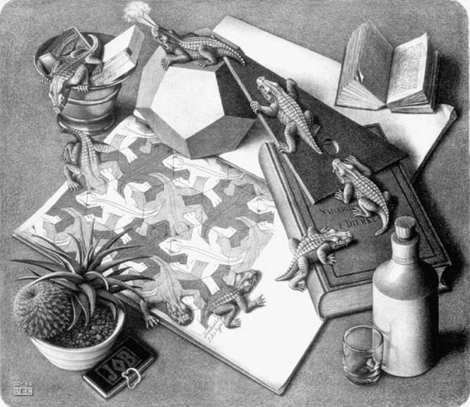 Reptielen - M.C. Escher