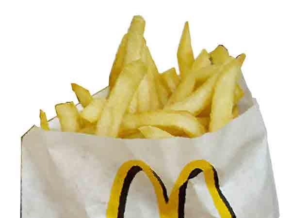 Wat zijn de ingrediënten van de friet van McDonald's?