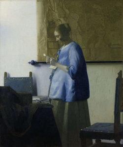 Brieflezende vrouw in het blauw (1662 – 1665) - Johannes Vermeer