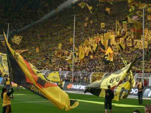 Voetbalclubs met meeste toeschouwers afgelopen 5 jaar