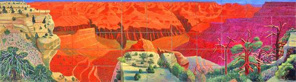 David Hockney - A Bigger Grand Canyon (1998)