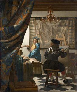 De schilderkunst (1666) - Johannes Vermeer