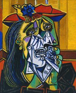 Pablo Picasso - Femme en pleurs (1937)