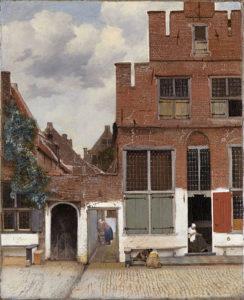 Het straatje (1657 – 1661) - Johannes Vermeer