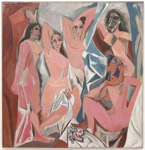 Pablo Picasso - Les Demoiselles d Avignon (1907)