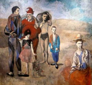 PabloPicasso - Les Saltimbanques (1905)