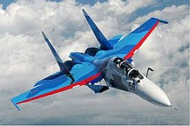 Su-30MKA fighter aircraft