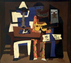 Pablo Picasso - Musiciens aux masques (1921)