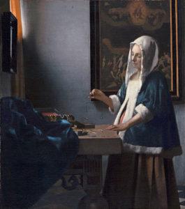 Vrouw met weegschaal (1662–65) - Johannes Vermeer