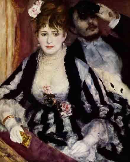 La Loge - Pierre-Auguste Renoir (1874)