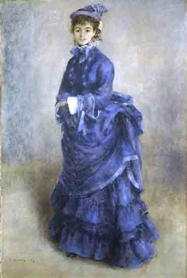 La Parisienne - Pierre-Auguste Renoir  (1874)